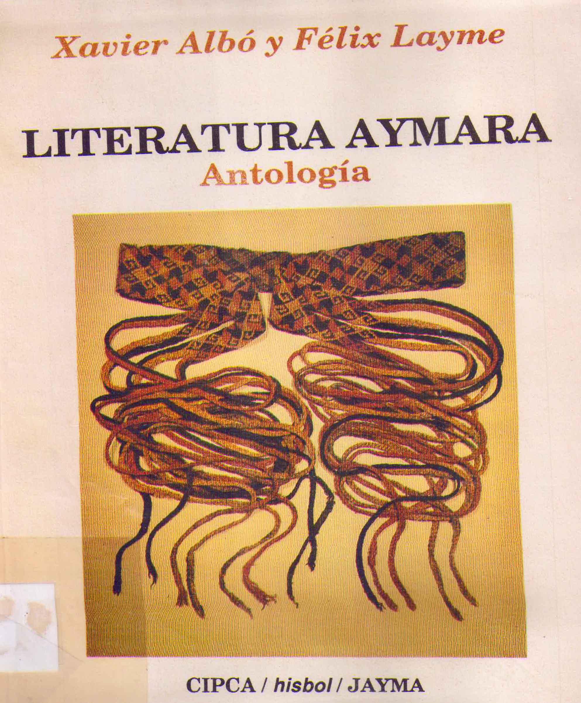 LITERATURA AYMARA