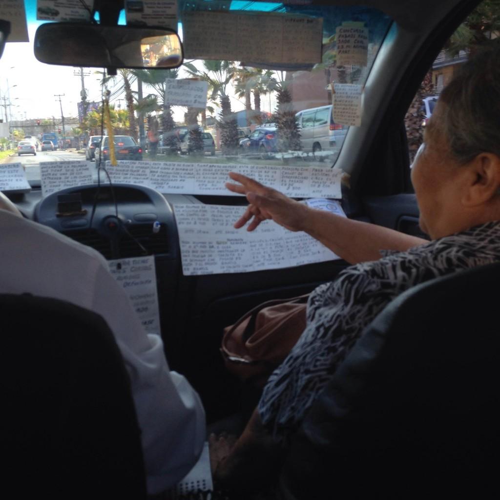 Taxi sergio