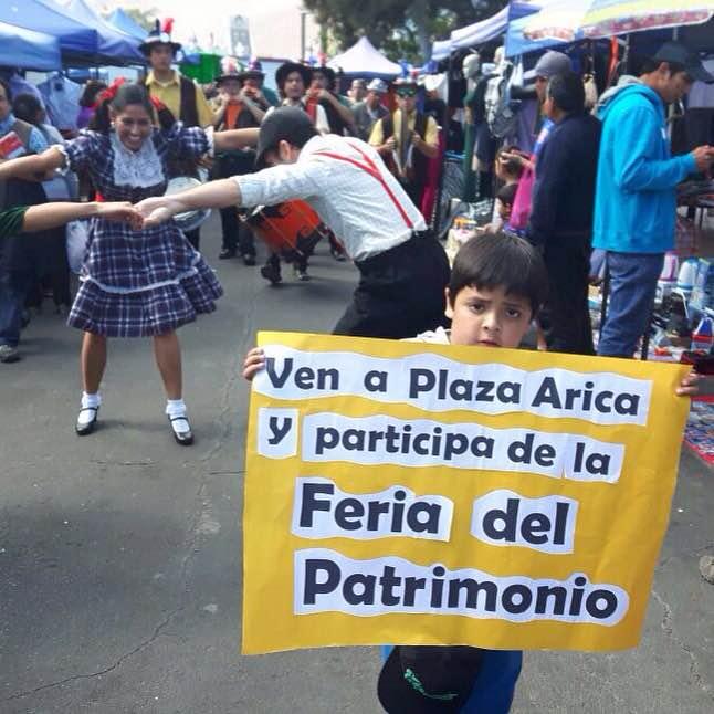 Patrimonio plaza Arica